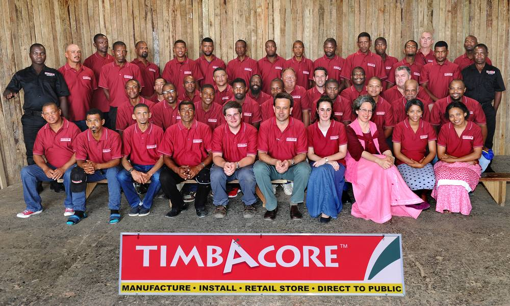 Timbacore staff group photo