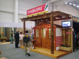 Timbacore's stand at the Homemakers Expo
